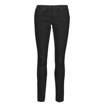 Odjeća Žene  Slim traperice Vero Moda VMJUDY Crna