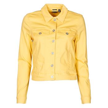 Odjeća Žene  Traper jakne Vero Moda VMHOTSOYA Žuta