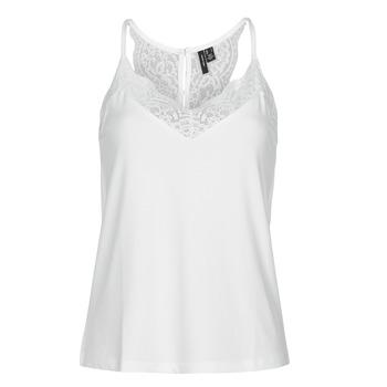 Odjeća Žene  Majice s naramenicama i majice bez rukava Vero Moda VMANA Bijela