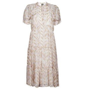 Odjeća Žene  Duge haljine Vero Moda VMKATHRINE Bež