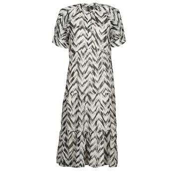 Odjeća Žene  Duge haljine Vero Moda VMKATHRINE Bijela / Crna
