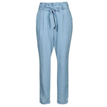 Odjeća Žene  Chino hlačei hlače mrkva kroja Vero Moda VMVIVIANAEVA Blue / Svijetla