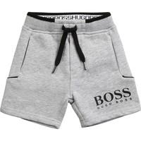 Odjeća Dječak  Bermude i kratke hlače BOSS J04M57-A32-C Siva