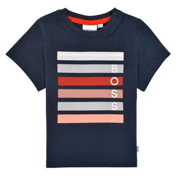 Odjeća Dječak  Majice kratkih rukava BOSS ENOLITO Blue