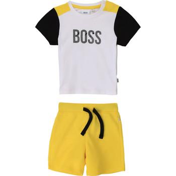 Odjeća Dječak  Dječji kompleti BOSS COLITA Multicolour