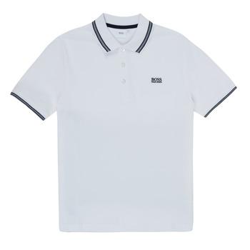 Odjeća Dječak  Polo majice kratkih rukava BOSS TONNELA Bijela