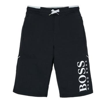 Odjeća Dječak  Bermude i kratke hlače BOSS KIMOLI Crna