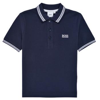 Odjeća Dječak  Polo majice kratkih rukava BOSS TONNELA Blue
