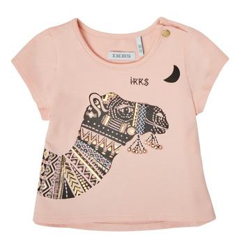 Odjeća Djevojčica Majice kratkih rukava Ikks XS10100-32 Ružičasta