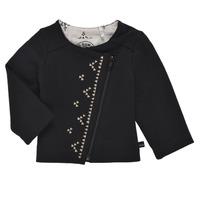 Odjeća Djevojčica Veste i kardigani Ikks XS17020-02 Crna