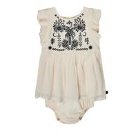 Odjeća Djevojčica Kratke haljine Ikks XS30060-11 Bijela