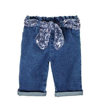 Odjeća Djevojčica Traperice ravnog kroja Ikks XS29000-86 Blue