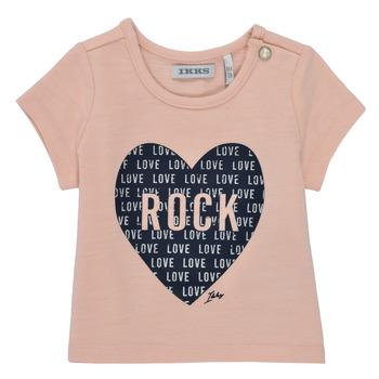 Odjeća Djevojčica Majice kratkih rukava Ikks XS10120-31 Ružičasta