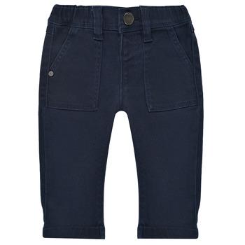 Odjeća Dječak  Hlače s pet džepova Ikks XS29011-48 Blue