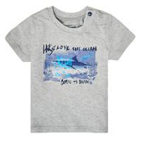 Odjeća Dječak  Majice kratkih rukava Ikks XS10031-24 Siva