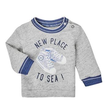 Odjeća Dječak  Sportske majice Ikks XS15001-24 Siva
