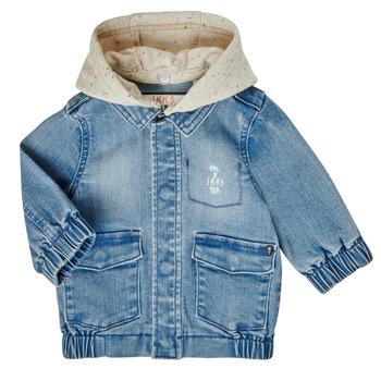 Odjeća Dječak  Kratke jakne Ikks XS40021-84 Blue