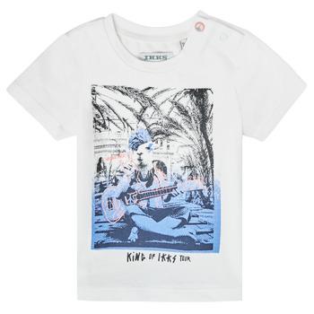 Odjeća Dječak  Majice kratkih rukava Ikks XS10051-19 Bijela