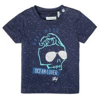 Odjeća Dječak  Majice kratkih rukava Ikks XS10011-48 Blue