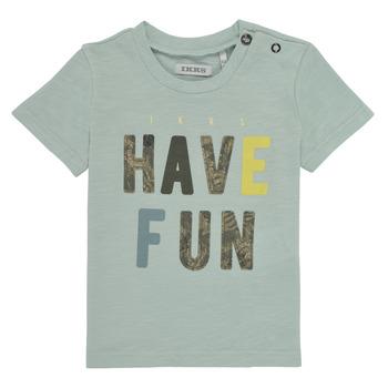 Odjeća Dječak  Majice kratkih rukava Ikks XS10131-50 Blue