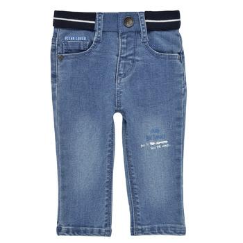 Odjeća Dječak  Slim traperice Ikks XS29001-83 Blue