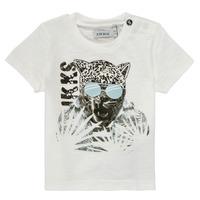 Odjeća Dječak  Majice kratkih rukava Ikks XS10161-19 Bijela