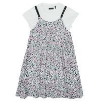 Odjeća Djevojčica Kratke haljine Ikks XS30182-19-C Multicolour