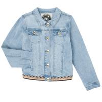 Odjeća Djevojčica Traper jakne Ikks XS40152-84-J Blue