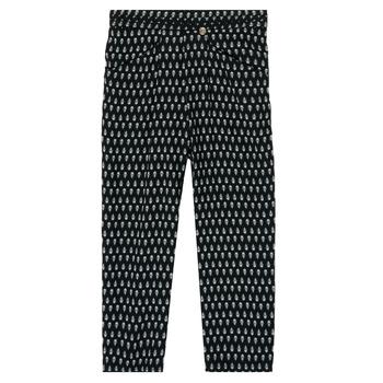 Odjeća Djevojčica Lagane hlače / Šalvare Ikks XS22002-02-C Crna