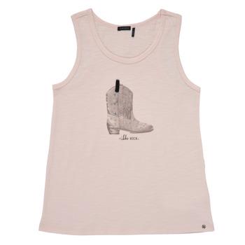 Odjeća Djevojčica Majice s naramenicama i majice bez rukava Ikks XS10302-31-C Ružičasta