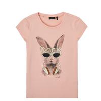 Odjeća Djevojčica Majice kratkih rukava Ikks XS10342-32-C Ružičasta