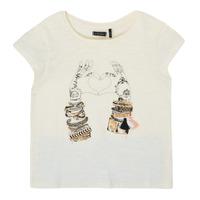 Odjeća Djevojčica Majice kratkih rukava Ikks XS10002-11-C Bijela