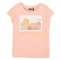 Odjeća Djevojčica Majice kratkih rukava Ikks XS10332-32-C Ružičasta