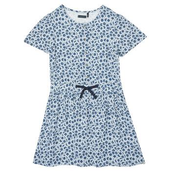 Odjeća Djevojčica Kratke haljine Ikks XS30102-48-C Blue