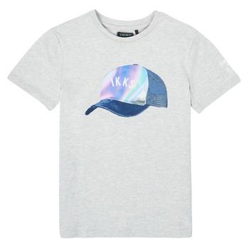 Odjeća Dječak  Majice kratkih rukava Ikks XS10073-24-C Siva