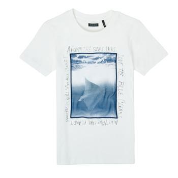 Odjeća Dječak  Majice kratkih rukava Ikks XS10033-19-C Bijela