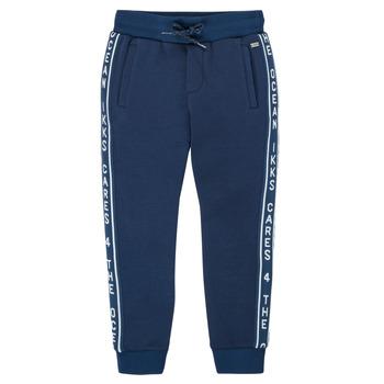 Odjeća Dječak  Donji dio trenirke Ikks XS23003-48-C Blue