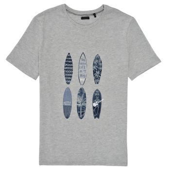 Odjeća Dječak  Majice kratkih rukava Ikks XS10363-24-C Siva