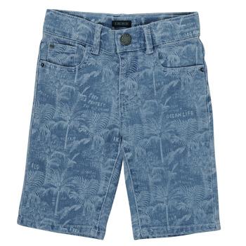 Odjeća Dječak  Bermude i kratke hlače Ikks XS25253-82-C Blue