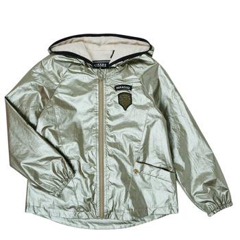Odjeća Djevojčica Kratke jakne Ikks XS41042-57-C Gold