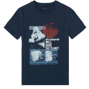 Odjeća Dječak  Majice kratkih rukava Ikks XS10013-48-C Blue
