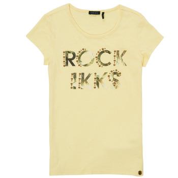 Odjeća Djevojčica Majice kratkih rukava Ikks XS10182-73-J Žuta