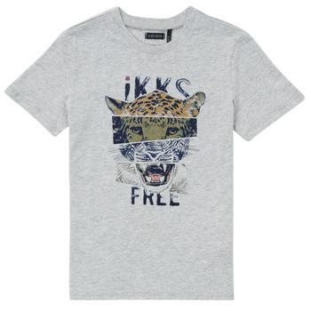 Odjeća Dječak  Majice kratkih rukava Ikks XS10233-24-J Siva