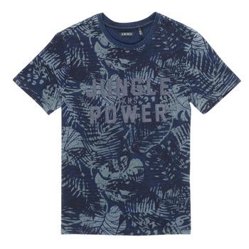 Odjeća Dječak  Majice kratkih rukava Ikks XS10153-46-J Blue