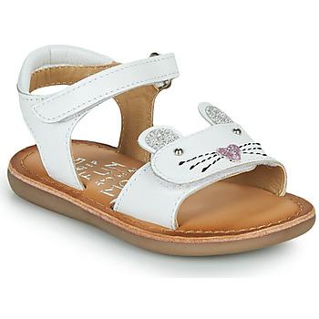 Obuća Djevojčica Sandale i polusandale Mod'8 CLOONIE Bijela