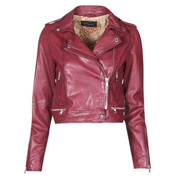 Odjeća Žene  Kožne i sintetičke jakne Oakwood KYOTO Bordo