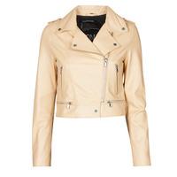 Odjeća Žene  Kožne i sintetičke jakne Oakwood YOKO Krem boja