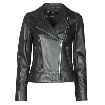 Odjeća Žene  Kožne i sintetičke jakne Oakwood MARJORY Crna