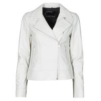 Odjeća Žene  Kožne i sintetičke jakne Oakwood MARJORY Bijela