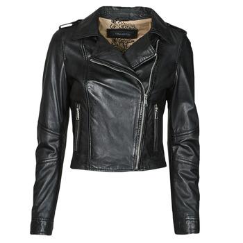 Odjeća Žene  Kožne i sintetičke jakne Oakwood ALIZEE Crna
